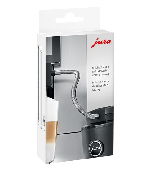 Jura Stainless Steel Milk Pipe Upgrade Kit